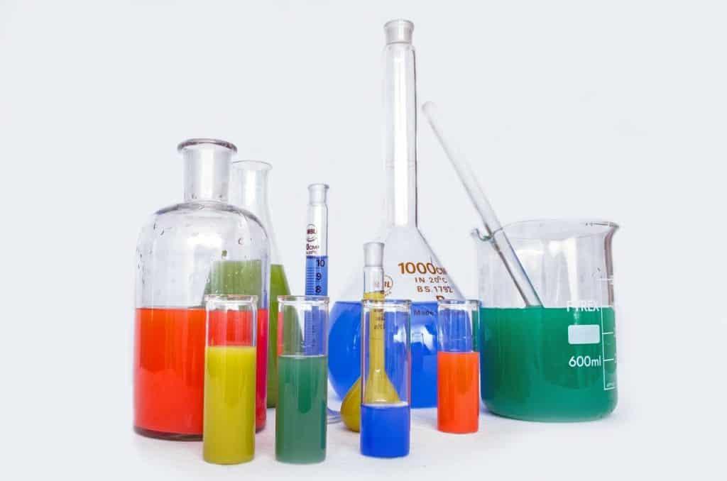 Testing laboratory, Lab, Chemicals