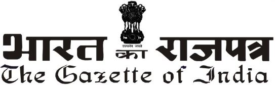 Gazette of India Notification