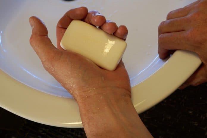 Cosmetics soap