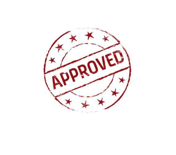 Approved approval nod