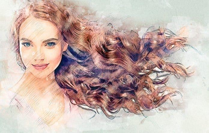 Health hair Lady