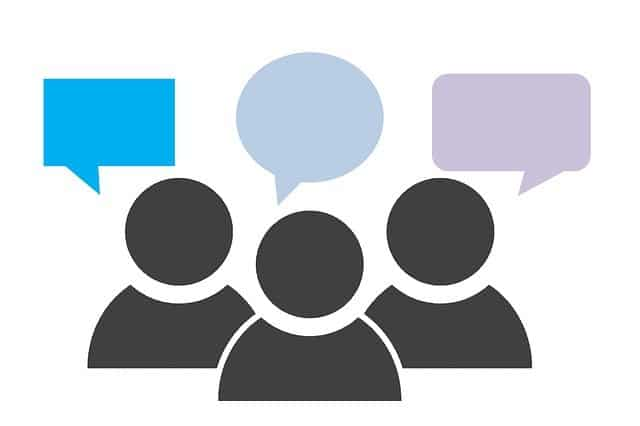 Opinion People meeting