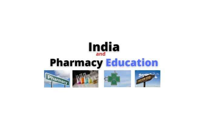India and Pharmacy Education