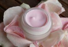 Face cream cosmetic